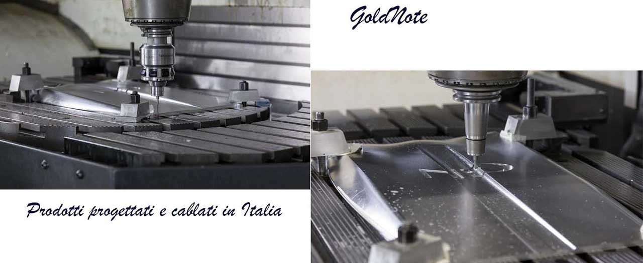 Foto cablaggio Gold Note